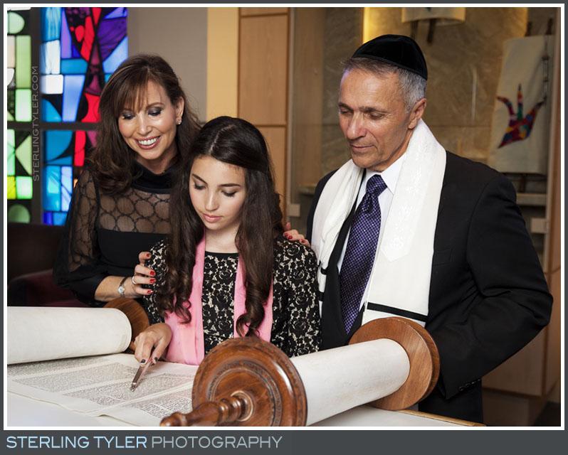 The University Synagogue Bat Mitzvah Portrait Photo