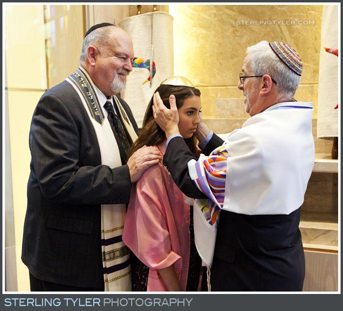 The University Synagogue Bat Mitzvah Ceremony Photography