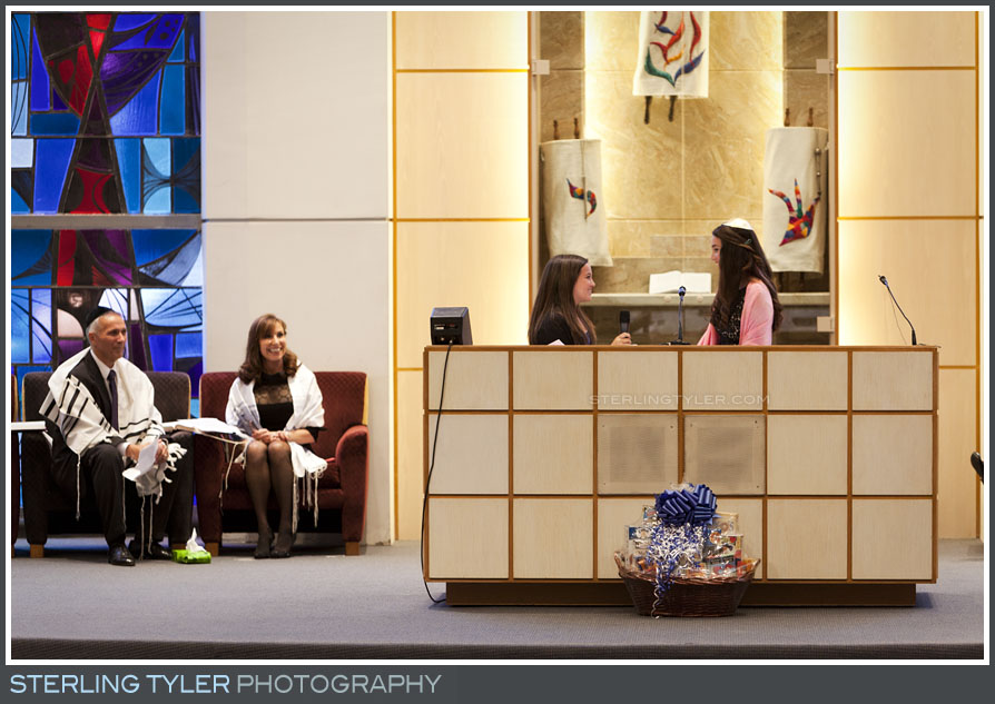 The University Synagogue Bat Mitzvah Ceremony Photography