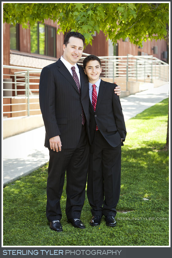 The Temple Koi Tikvah Bar Mitzvah Portrait Photos