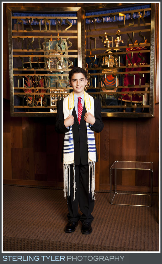 The Temple Koi Tikvah Bar Mitzvah Portrait Photo