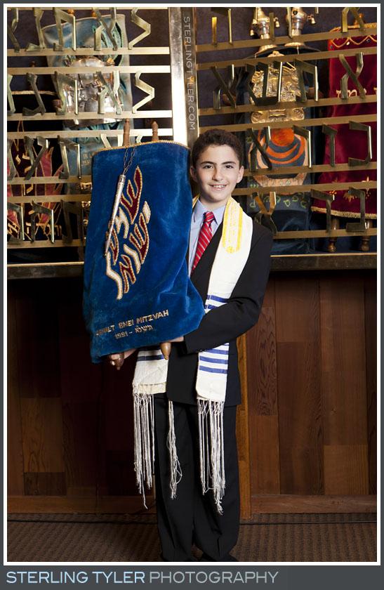 The Temple Koi Tikvah Bar Mitzvah Portrait Photo