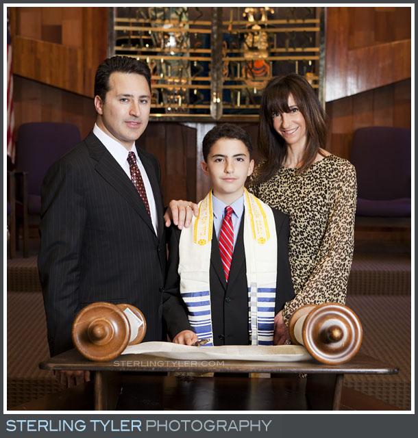 The Temple Koi Tikvah Bar Mitzvah Portrait Photography