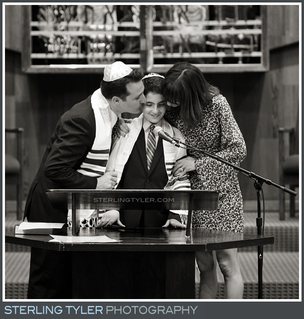 The Temple Koi Tikvah Bar Mitzvah Service Photos