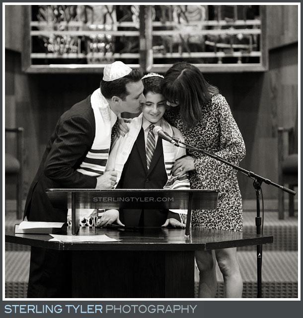 The Temple Koi Tikvah Bar Mitzvah Service Photos