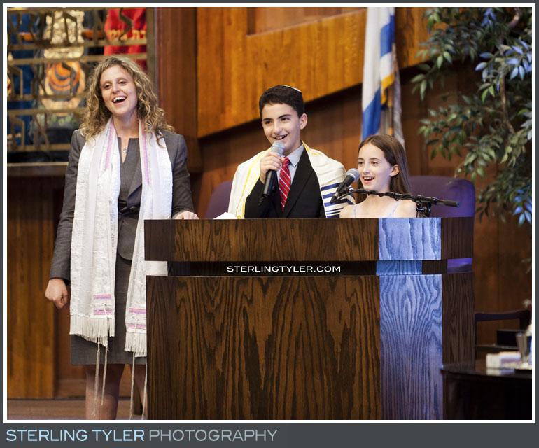 The Temple Koi Tikvah Bar Mitzvah Service Photography