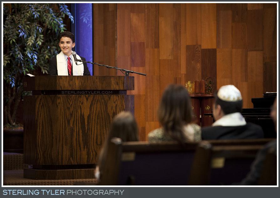 The Temple Koi Tikvah Bar Mitzvah Service Photo