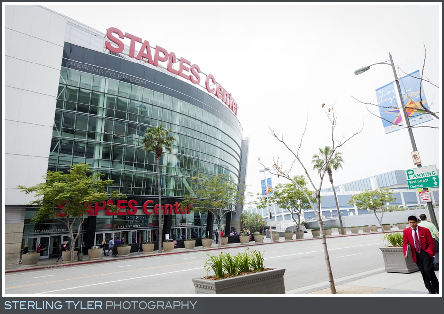 The Staples Center Bar Mitzvah Photography