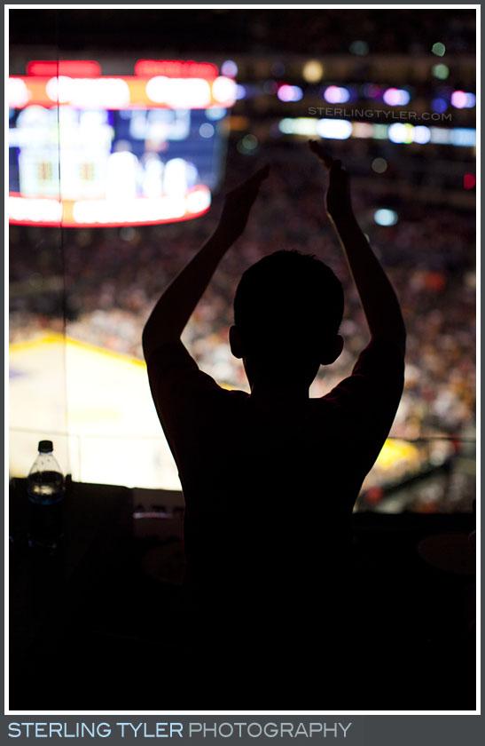 The Lakers Game Bar Mitzvah Photos