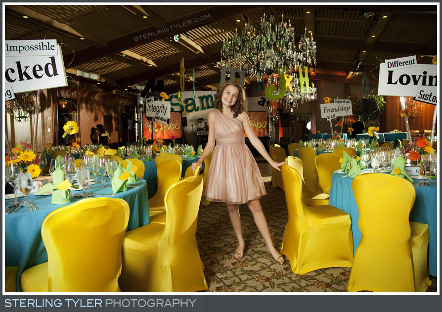 The Hillcrest Country Club Bat Mitzvah Photography