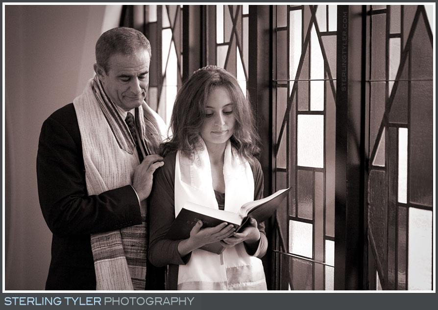 The Sinai Temple Bat Mitzvah Portrait Photography