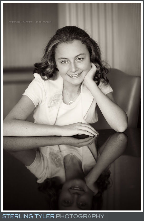 The Sinai Temple Bat Mitzvah Portrait Photography