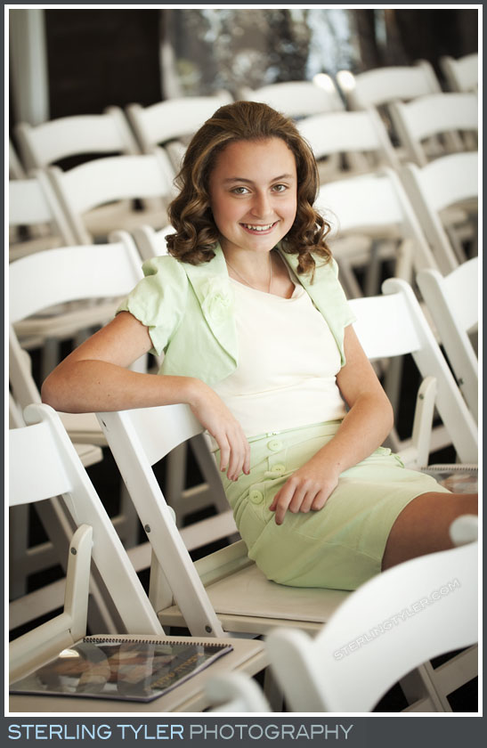 The Sinai Temple Bat Mitzvah Portrait Photos