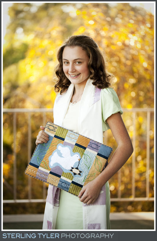 The Sinai Temple Bat Mitzvah Portrait Photo