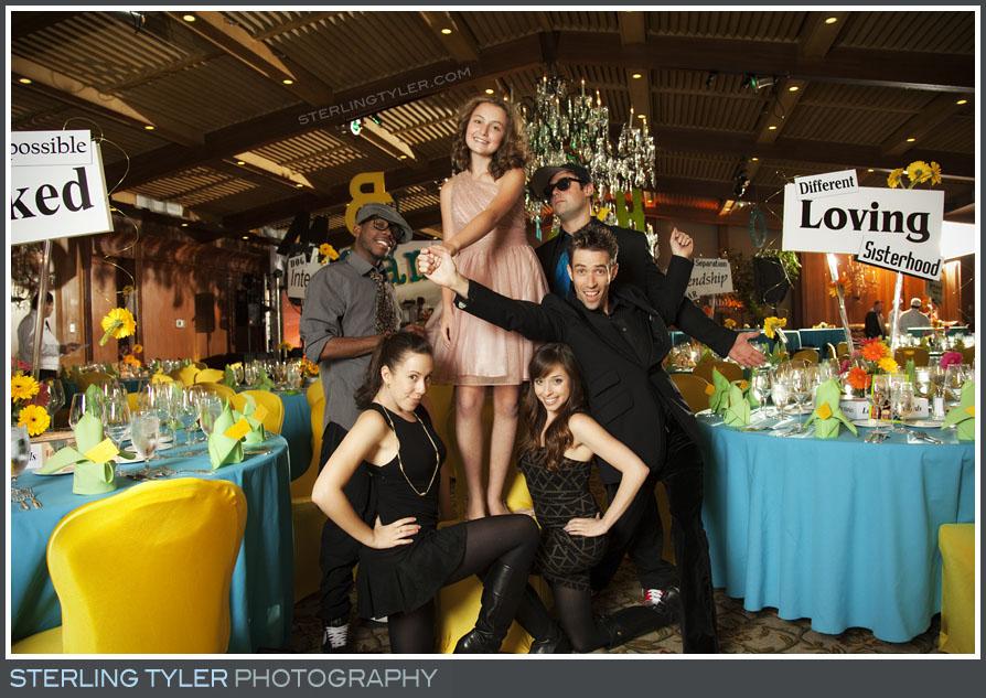 The Hillcrest Country Club Bat Mitzvah Reception Portrait Photography