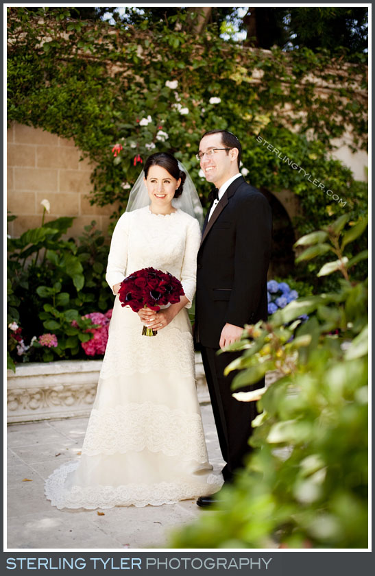 The Sephardic Temple Tiferet Wedding Portrait Photo