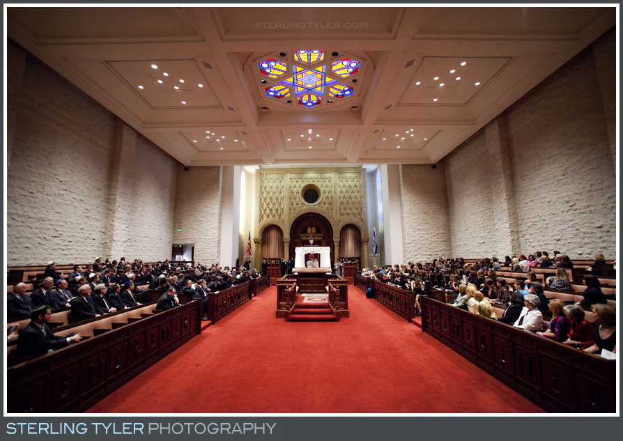 The Sephardic Temple Tiferet Wedding Ceremony Photography