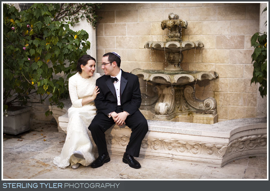 The Sephardic Temple Tiferet Wedding Portrait Photoss