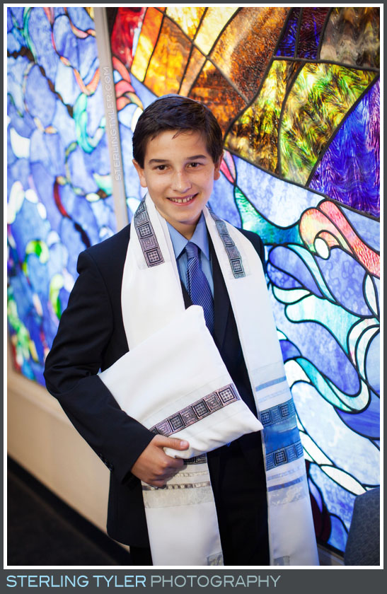 The Temple Adat Elohim Bar Mitzvah Portrait Photogs