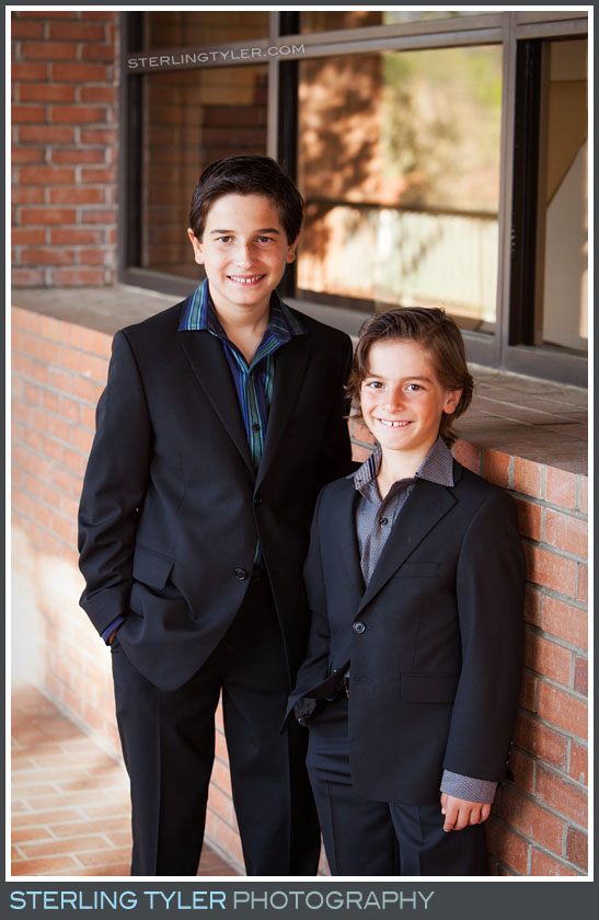 The Temple Adat Elohim Bar Mitzvah Portrait Photo