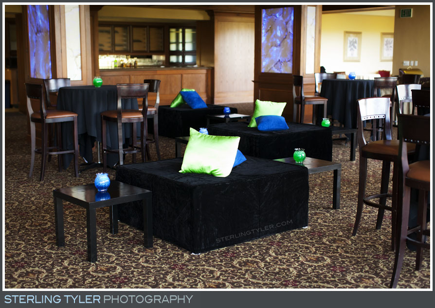 The North Ranch Country Club Bar Mitzvah Reception Photo