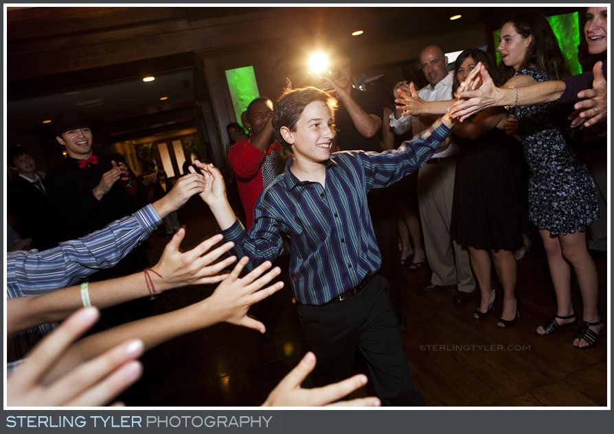 The North Ranch Country Club Bar Mitzvah Reception Photos