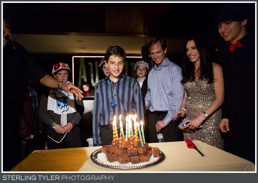 The North Ranch Country Club Bar Mitzvah Reception Photography