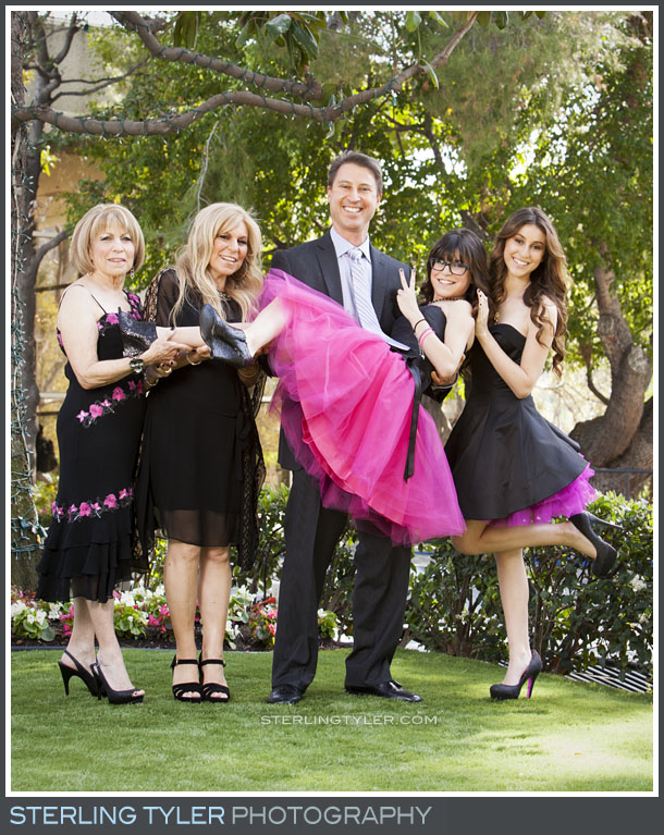 The Universal Sheraton Bat Mitzvah Family Portrait Photography