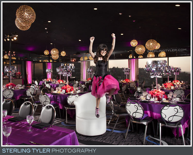 The Universal Sheraton Bat Mitzvah Reception Portrait Photo