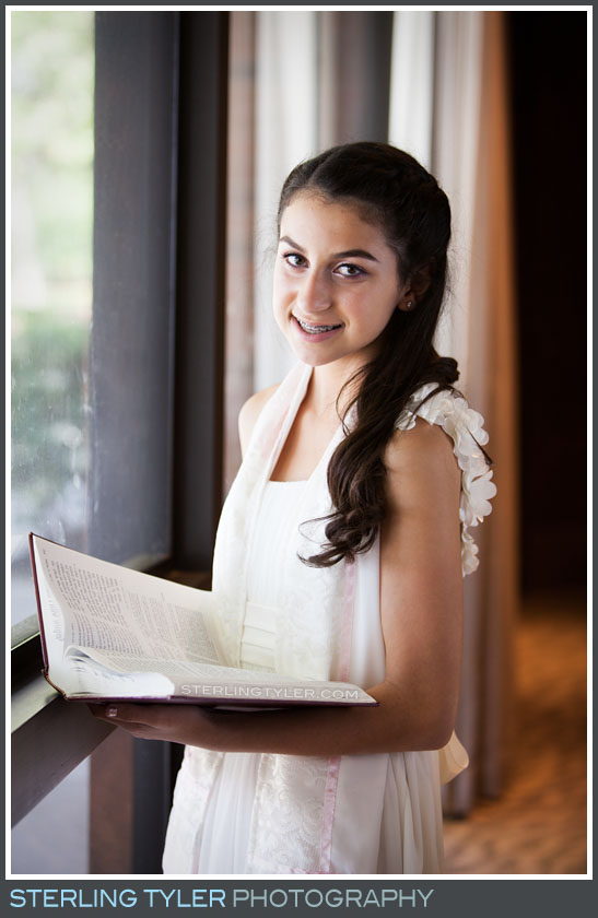 The Stephen S. Wise Temple Bat Mitzvah Portrait Photos