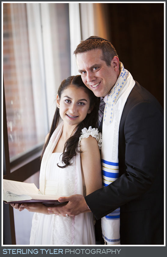 The Stephen S. Wise Temple Bat Mitzvah Portrait Photography