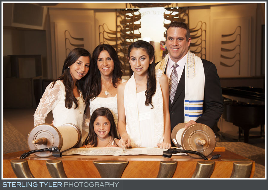 The Stephen S. Wise Temple Bat Mitzvah Family Portrait Photography