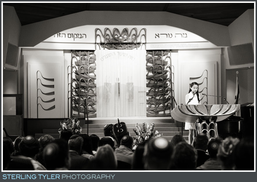 The Stephen S. Wise Temple Bat Mitzvah Service Photography