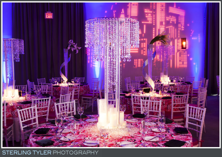 The Luxe Bat Mitzvah Reception Photography