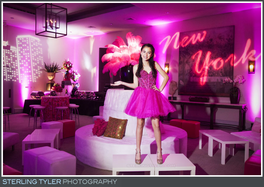 The Luxe Bat Mitzvah Reception Portrait Photos