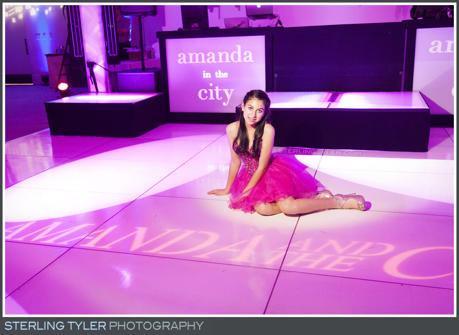 The Luxe Bat Mitzvah Reception Portrait Photography