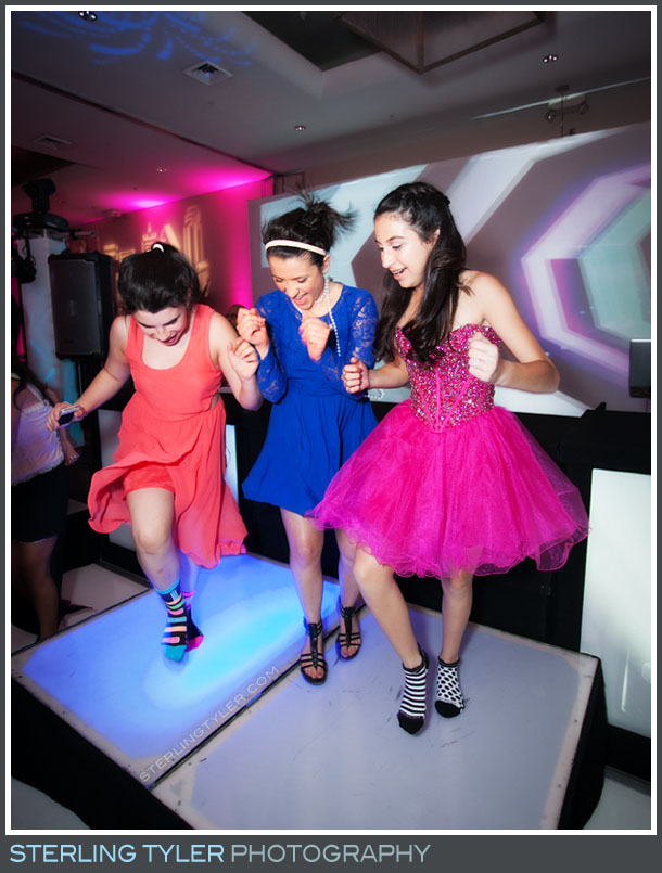 The Luxe Bat Mitzvah Reception Photo