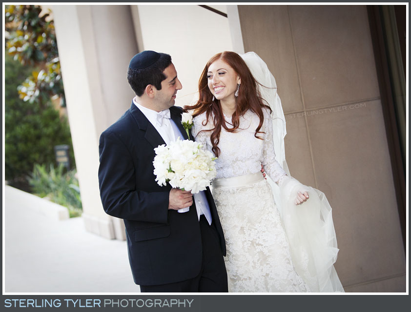 montage beverly hills bride groom portrait