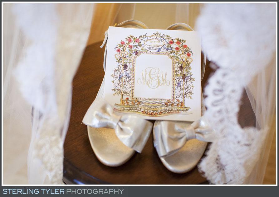 montage beverly hills bridal accessories invitation detail