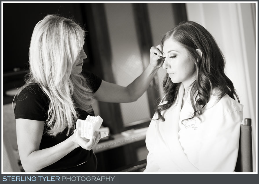bride makeup montage beverly hills portrait