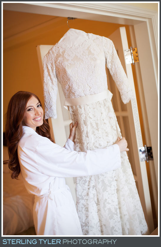 bride portrait wedding dress montage beverly hills