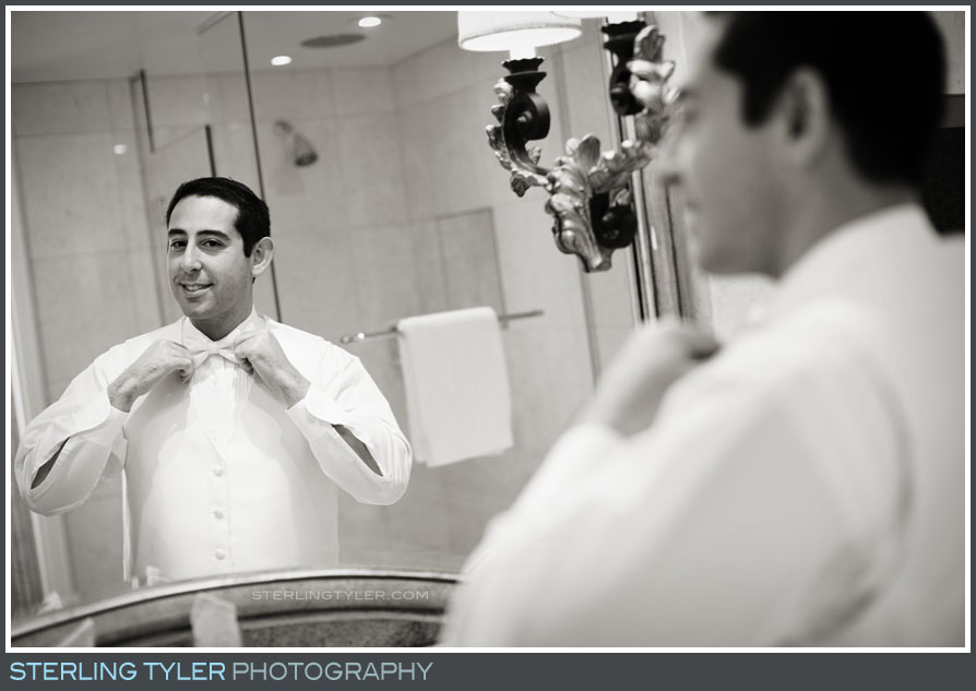groom dressing portrait montage beverly hills