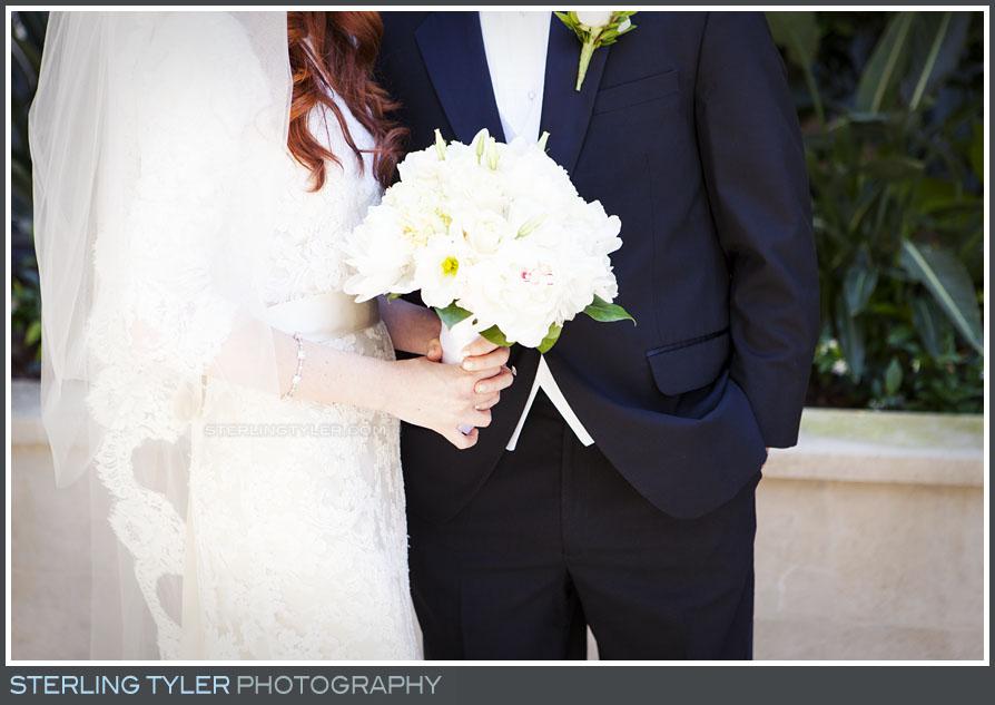 bride groom portrait flower bouquet detail montage beverly hills