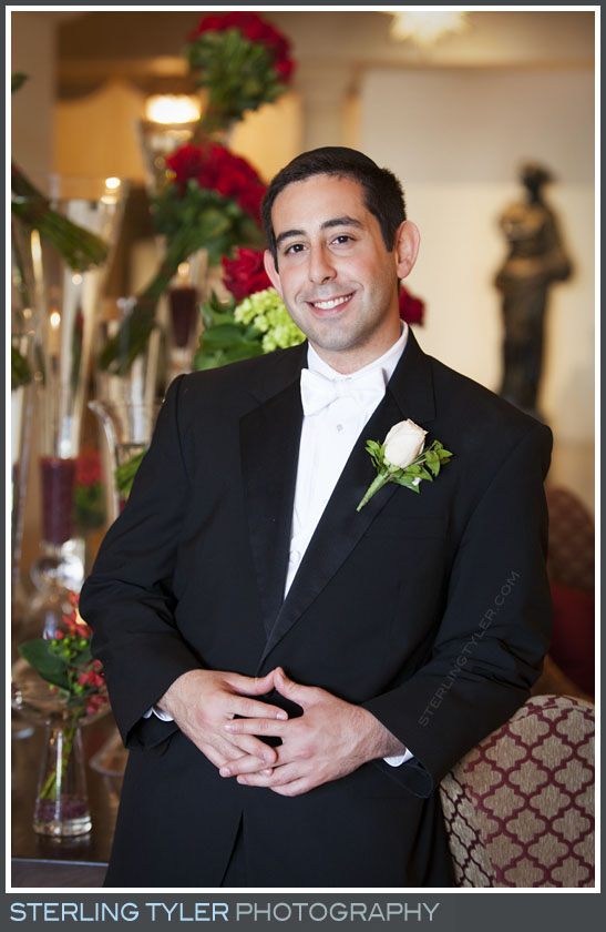 groom wedding portrait montage beverly hills