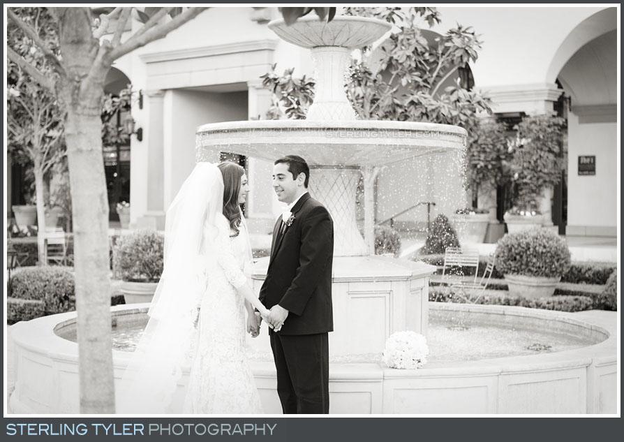 bride groom wedding portrait montage beverly hills