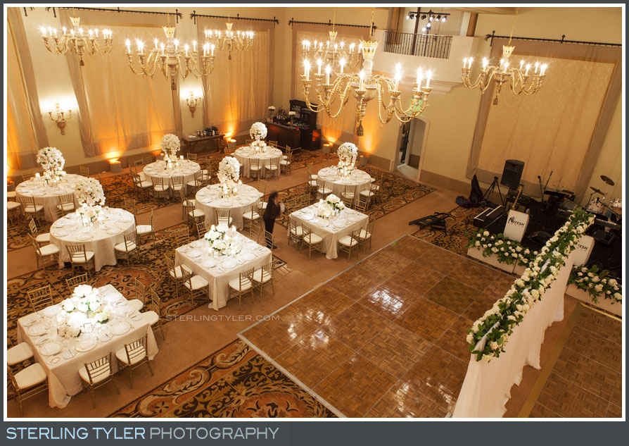 wedding reception decor montage beverly hills
