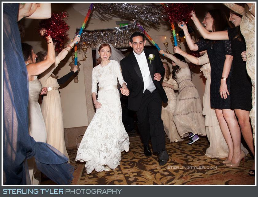 bride groom portrait wedding reception montage beverly hills