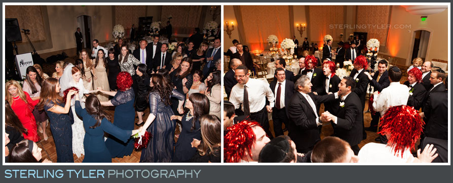 bride groom dancing wedding reception montage beverly hills