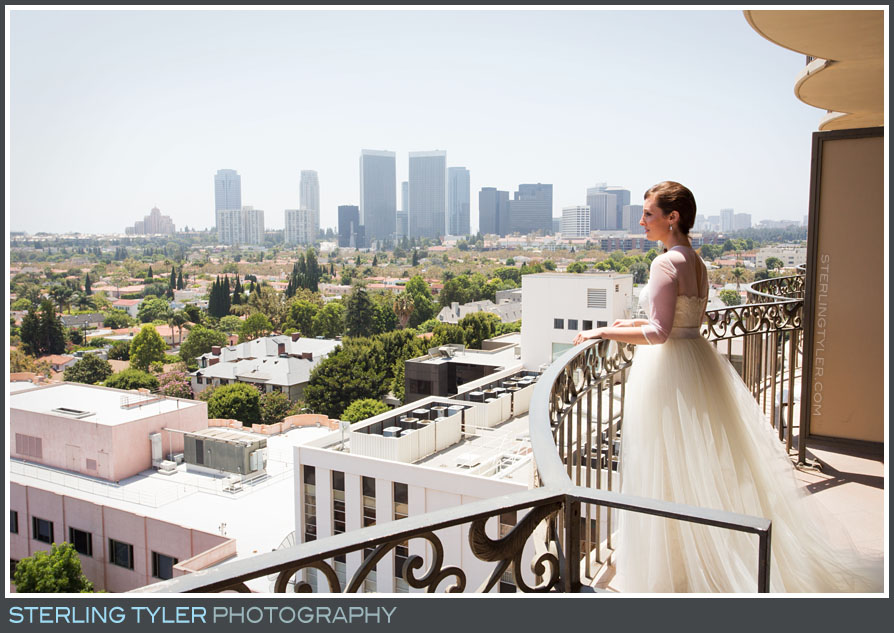 bride portrait sephardic temple downtown los angeles