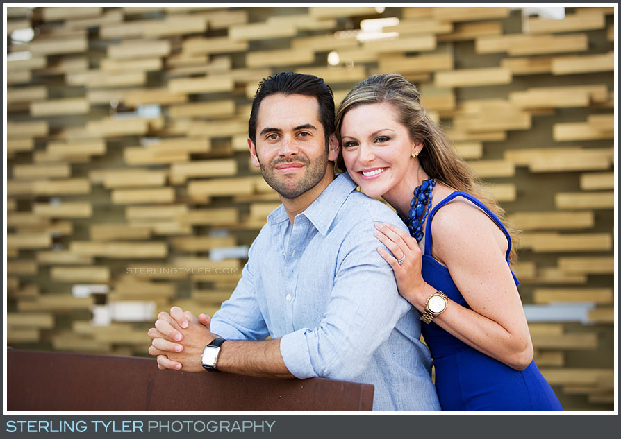Downtown Los Angeles Engagement Portrait Photos